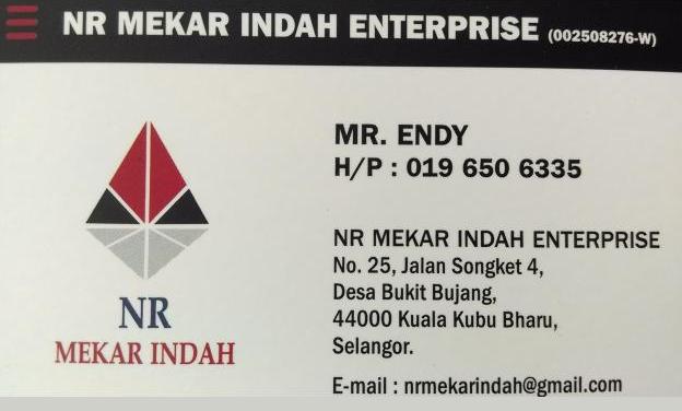 NR MEKAR INDAH RENOVATION