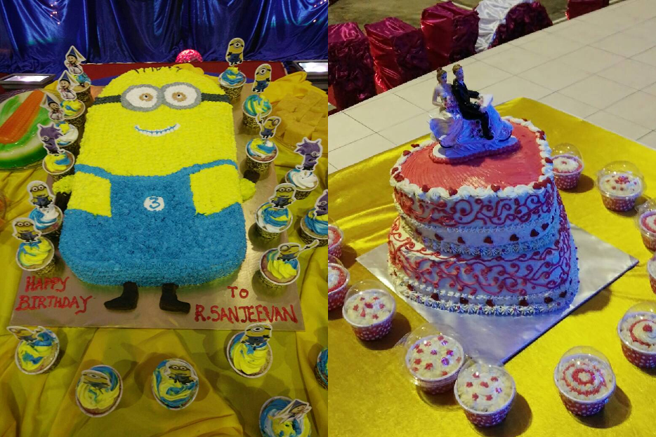 Viji's Cakes Order Now