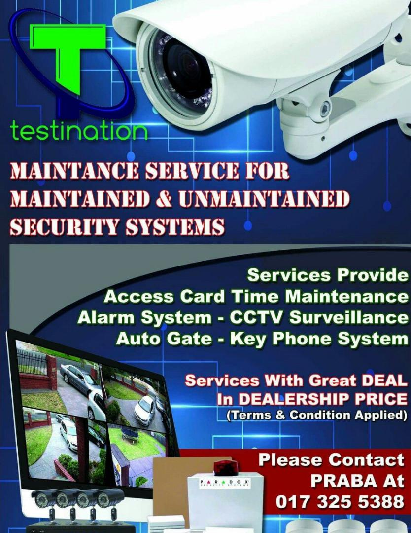 CCTV Testination Mr.Praba