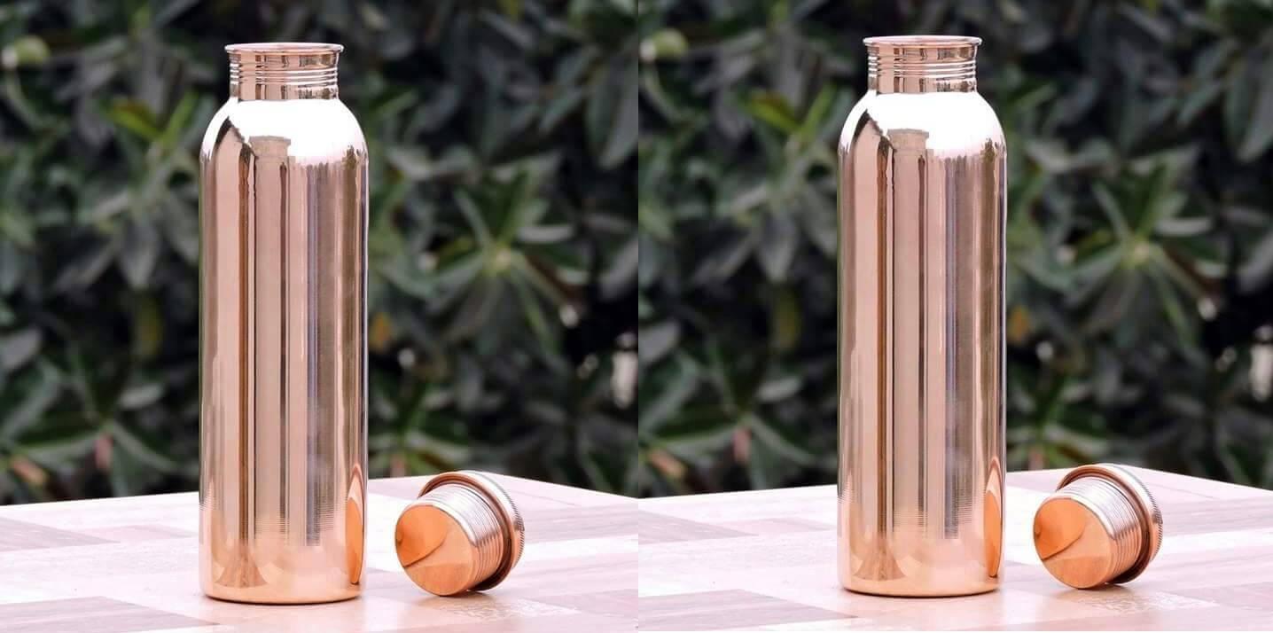 Pure Cooper bottle