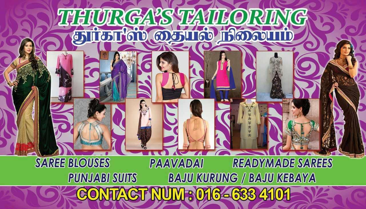 Thurga's tailoring Sg buloh
