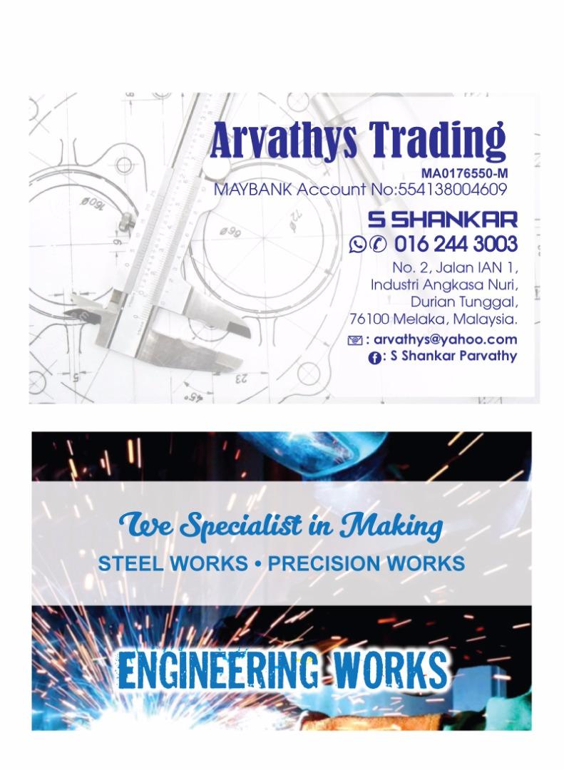 Arvathys Trading Engineering Works