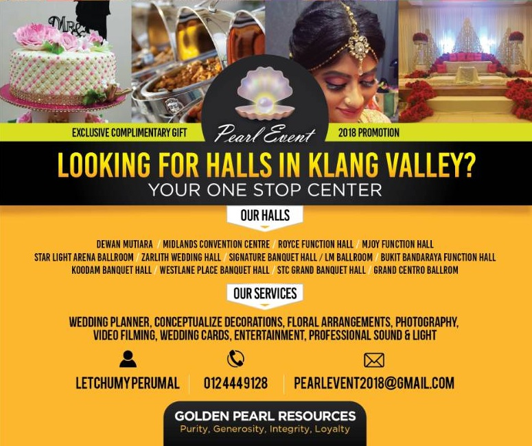 Looking for Wedding Hall in Klang Valley – Pearl Event