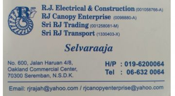 Rj Electrical & Constructions works